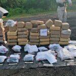 Autoridades queman 233 kilogramos de drogas ocupadas en operativos